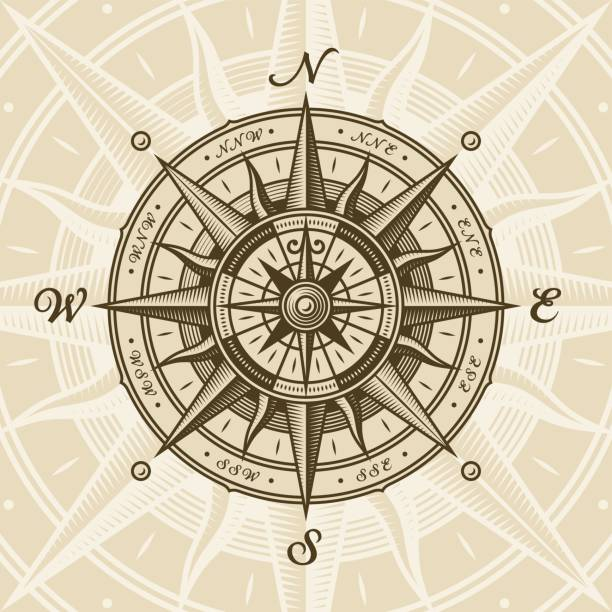 Compass stock illustrations