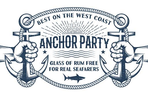 Vintage nautical poster