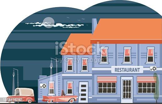 Vintage neighborhood