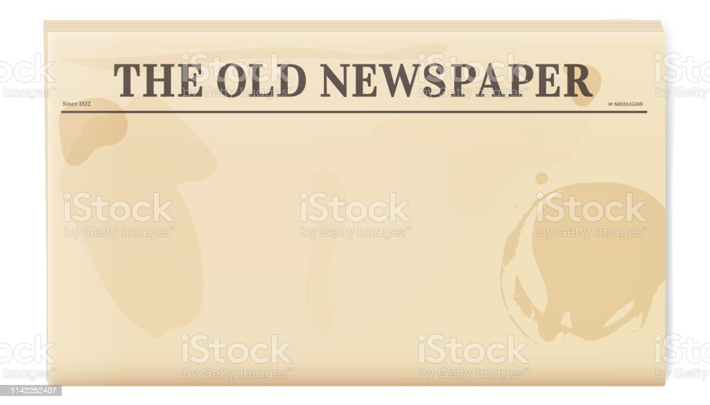 Front Page Newspaper Template from media.istockphoto.com
