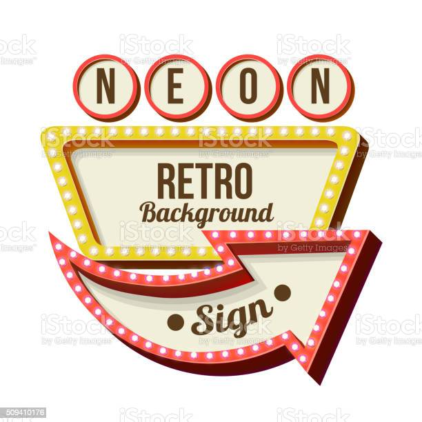 Vintage night 3d advertising sign vector id509410176?b=1&k=6&m=509410176&s=612x612&h=ebvnjwtyx0oqeiqtz07t7upulg csyc62t3uxh97oyo=
