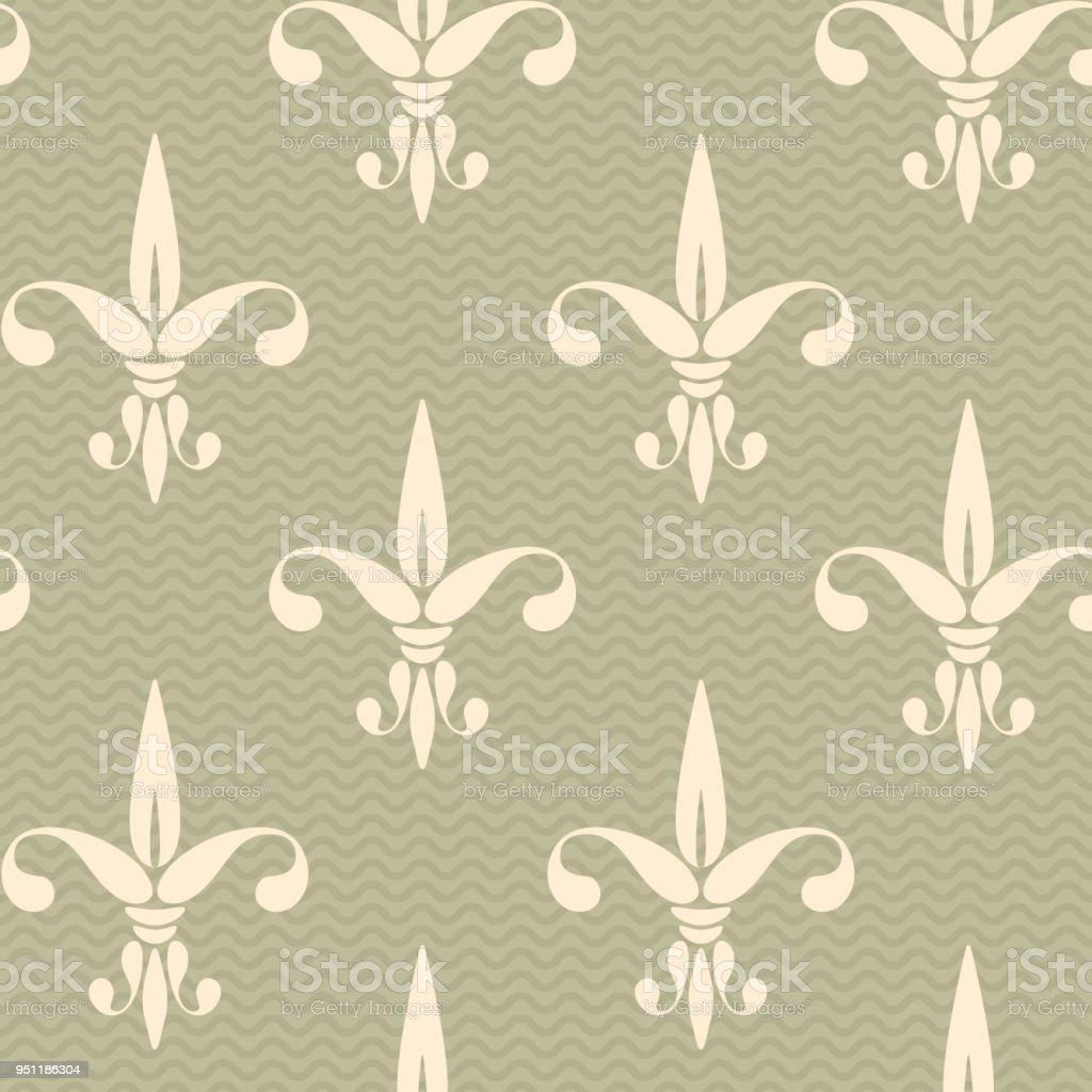 Vintage Motif Fleur De Lys Cliparts Vectoriels Et Plus D Images De