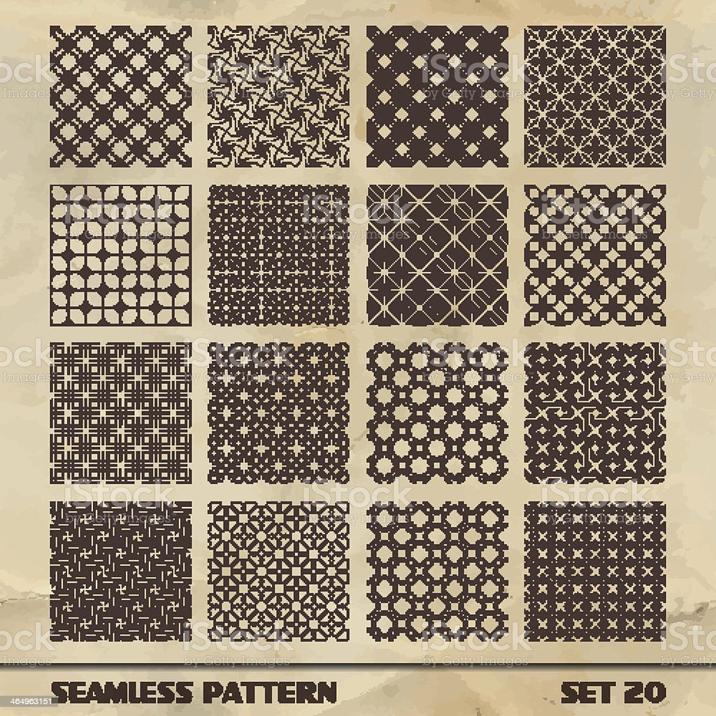 SEAMLESS vintage pattern. royalty-free seamless vintage pattern stock vector art & more images of abstract