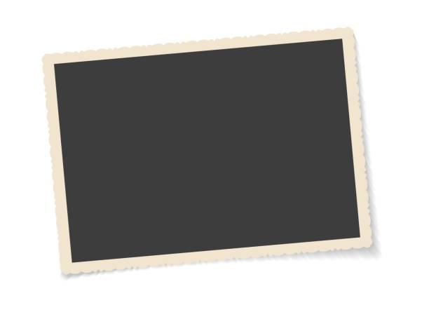빈티지 사진 프레임 - 오래된 stock illustrations