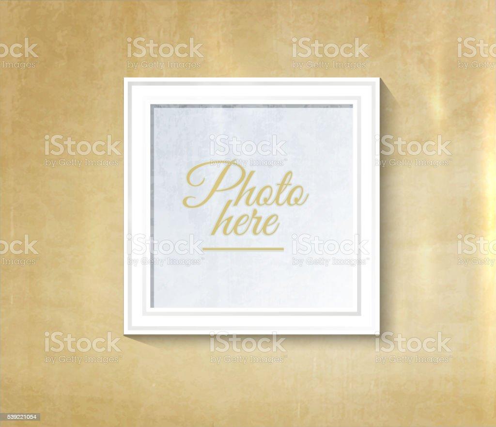 Vintage Fotorahmen Vektor Illustration 539221054 | iStock