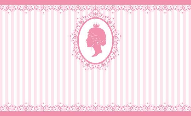 vintage rosa hintergrund-design - hochzeitsanstecker stock-grafiken, -clipart, -cartoons und -symbole
