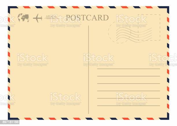 Vintage postcard template retro airmail envelope with stamp airplane vector id897181186?b=1&k=6&m=897181186&s=612x612&h=bc7jyhd2m5asyd3mgxcu3 lyctodwops0cvtitx19 u=