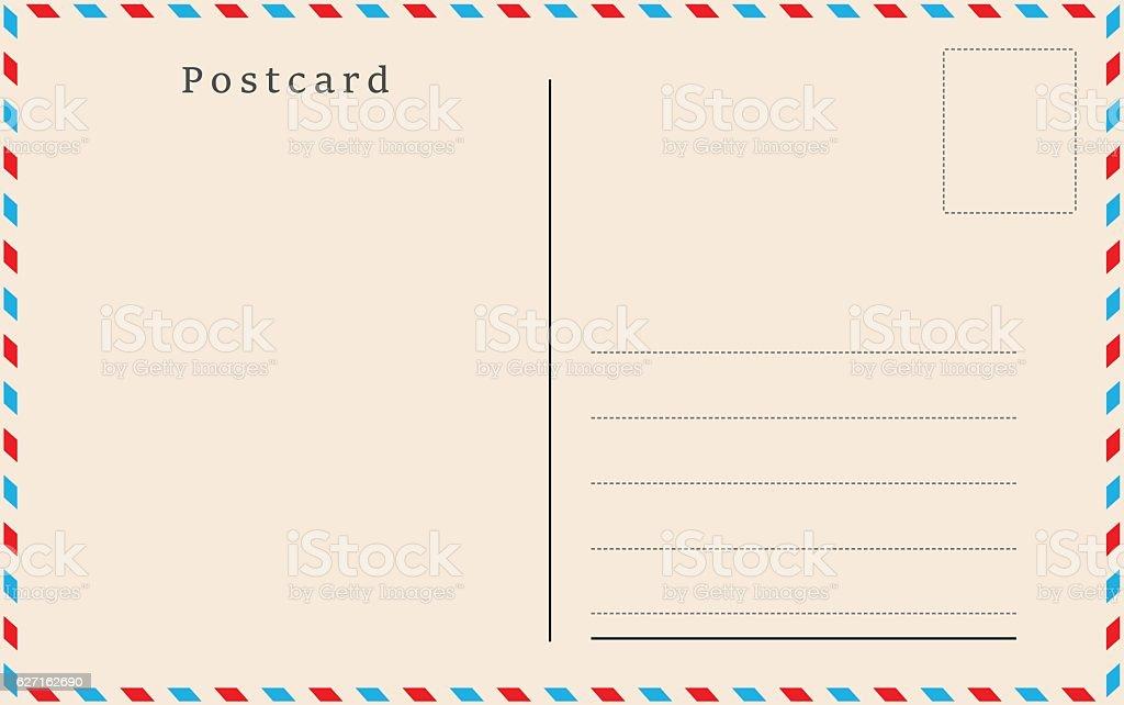 Post Card Back Designs