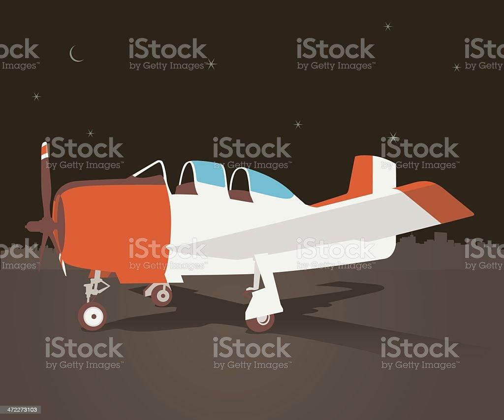 vintage propeller jet royalty-free vintage propeller jet stock vector art & more images of air vehicle