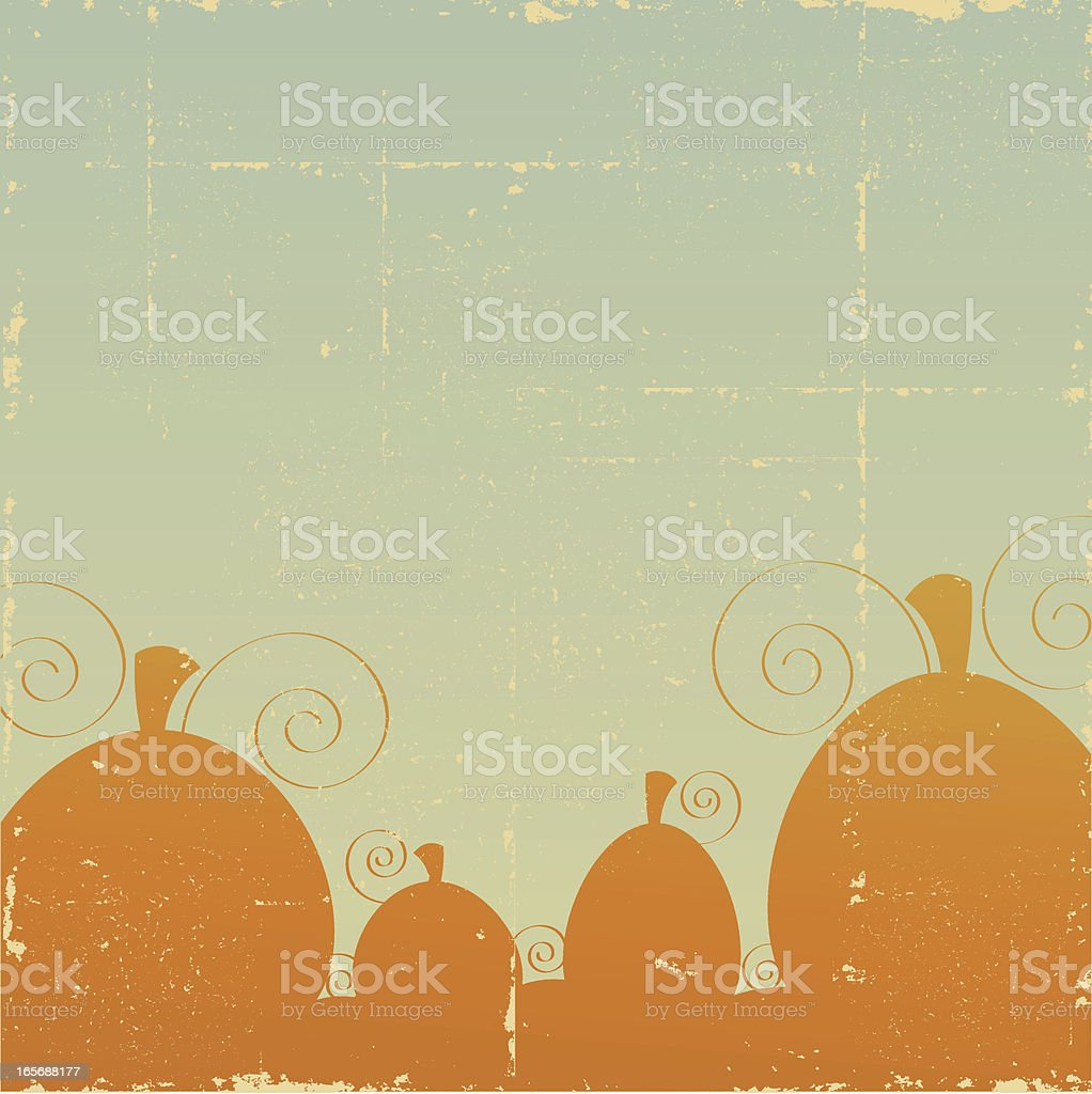 Vintage Pumpkin Patch royalty-free vintage pumpkin patch stock vector art & more images of autumn