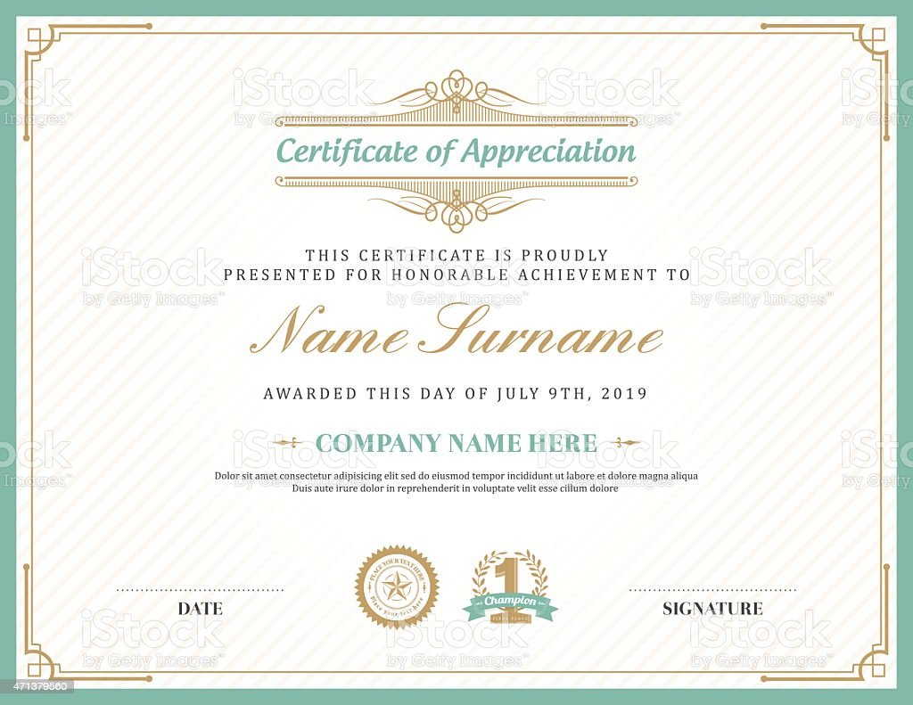 toastmasters certificate of appreciation template - certificate of appreciation frame sample certificate