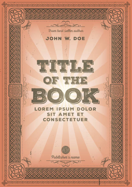 Book Cover Design Artists Uk : Royalty free antique book cover clip art vector images