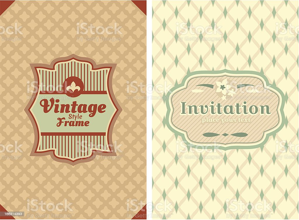 vintage retro cards royalty-free vintage retro cards stock vector art & more images of abstract
