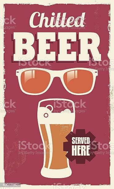 Vintage retro chilled beer poster sign vector id490775621?b=1&k=6&m=490775621&s=612x612&h=7b2qzetsc4idcbrioynavgyj3xeih9sehtsjikzhsaq=