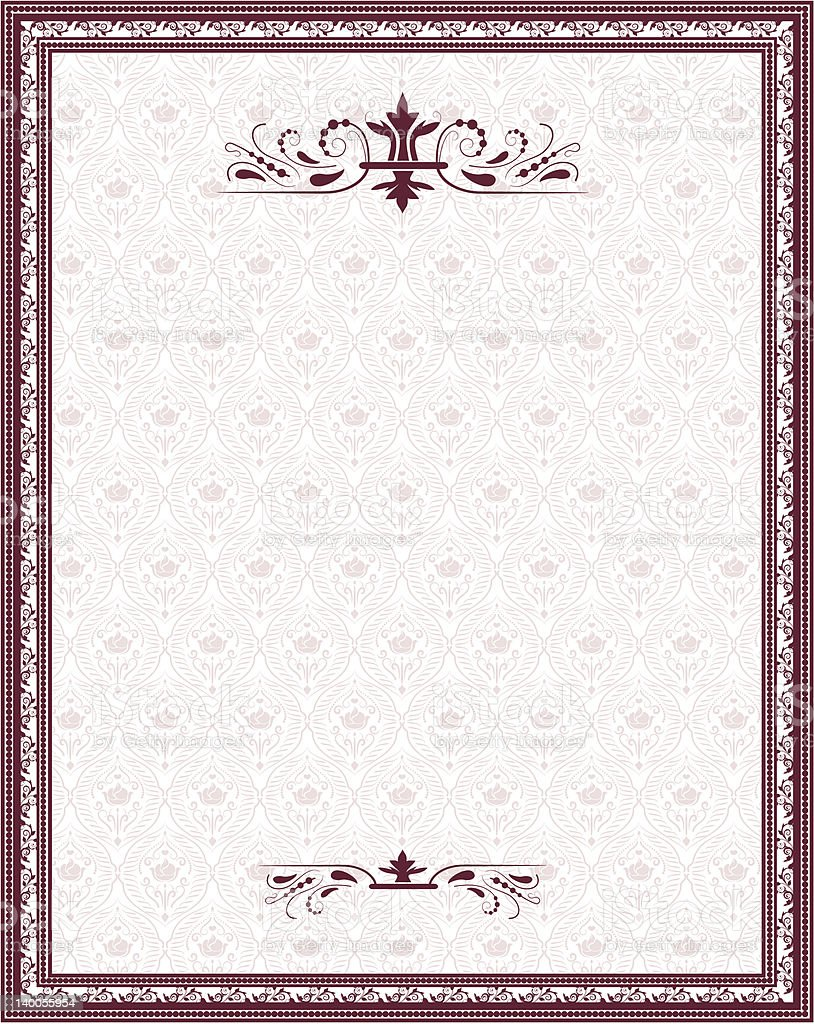 vintage retro frame royalty-free stock vector art