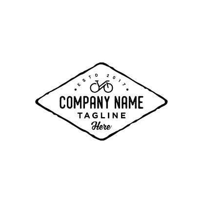 Vintage Retro Hipster Biking Cycling Club design