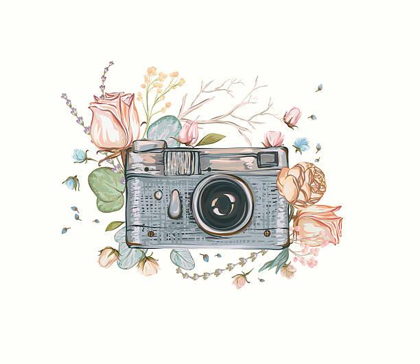Best Vintage Camera Illustrations, Royalty-Free Vector ...
