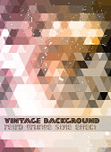 istock Vintage RetroDesign flyer template. Abstract background 521230919
