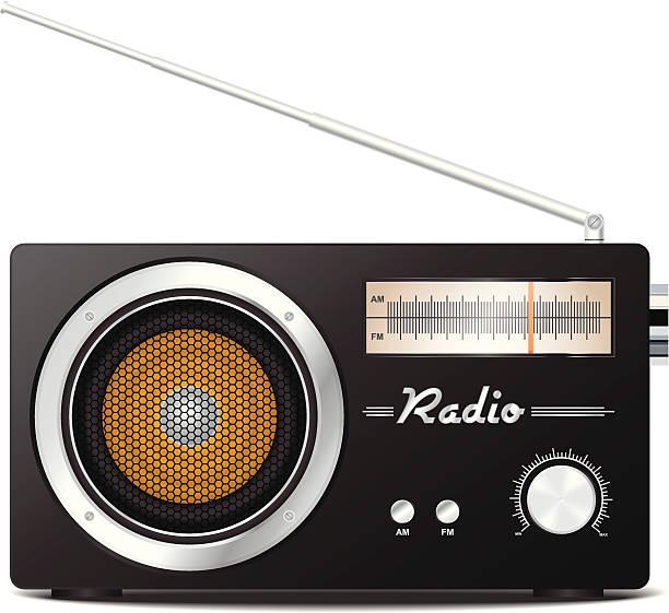 Royalty Free Vintage Radio Clip Art, Vector Images ...