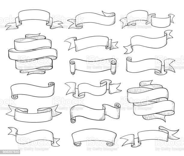 Vintage ribbons sketch vector id956397640?b=1&k=6&m=956397640&s=612x612&h=9xsjab24rgc55lfizcqw9qtzicmtdwqhyrpkhf29xwq=