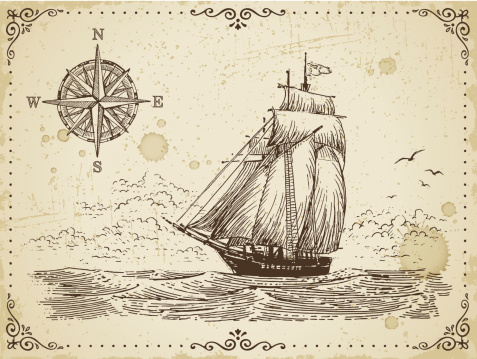 Vintage tattoo style stock illustrations