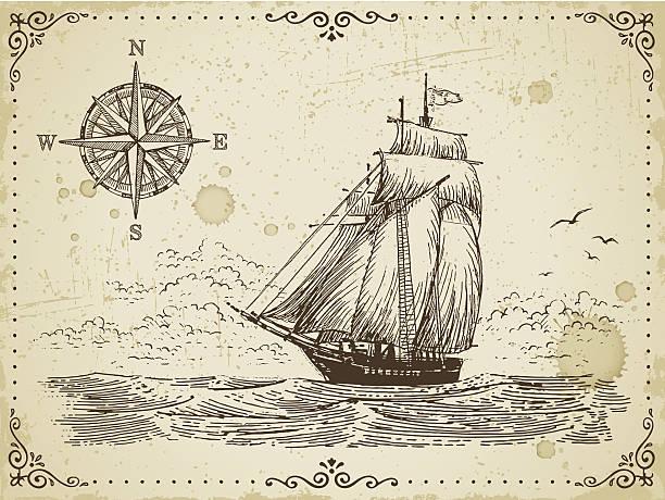 Vintage tattoo style stock illustrations