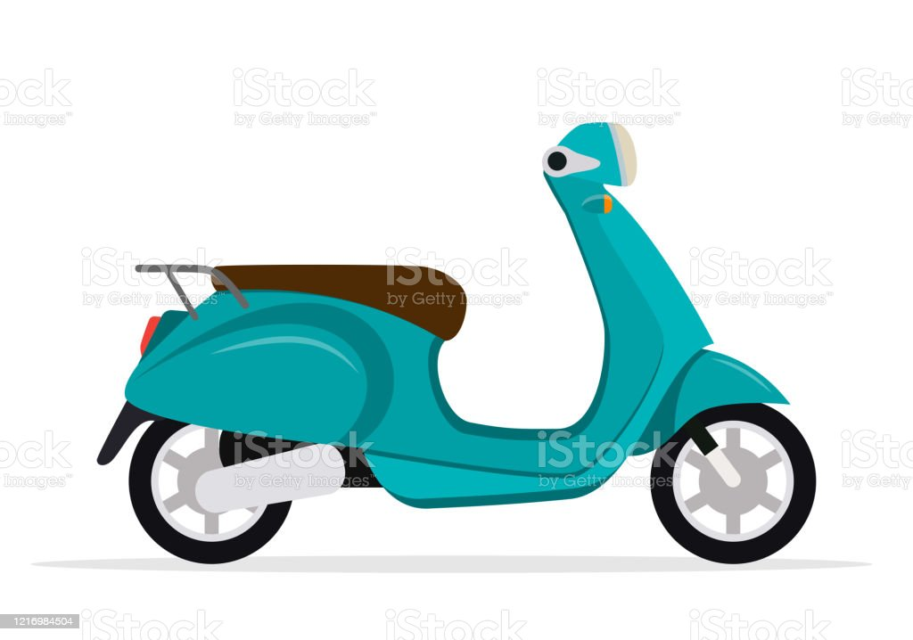 Vintage Scooter Personal Transport Stock Illustration Download Image Now Istock