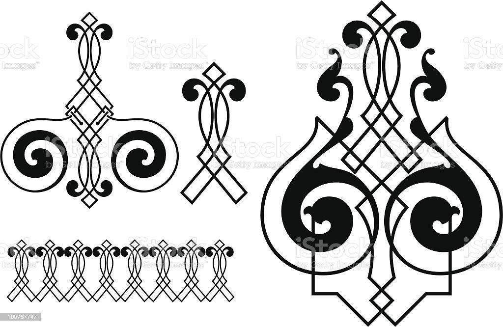 Vintage scroll design elements royalty-free vintage scroll design elements stock vector art & more images of backgrounds
