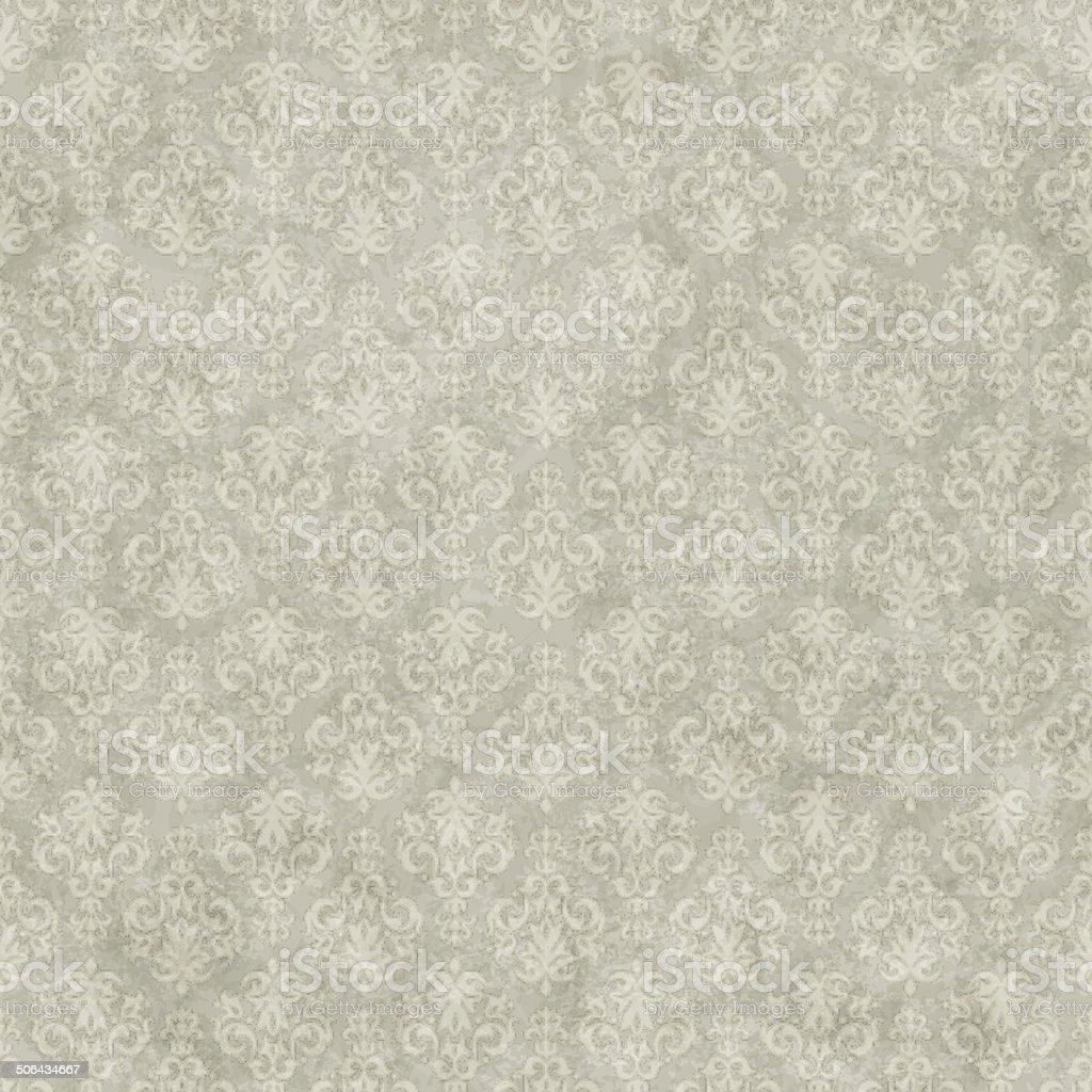 Vintage seamless pattern background vector art illustration