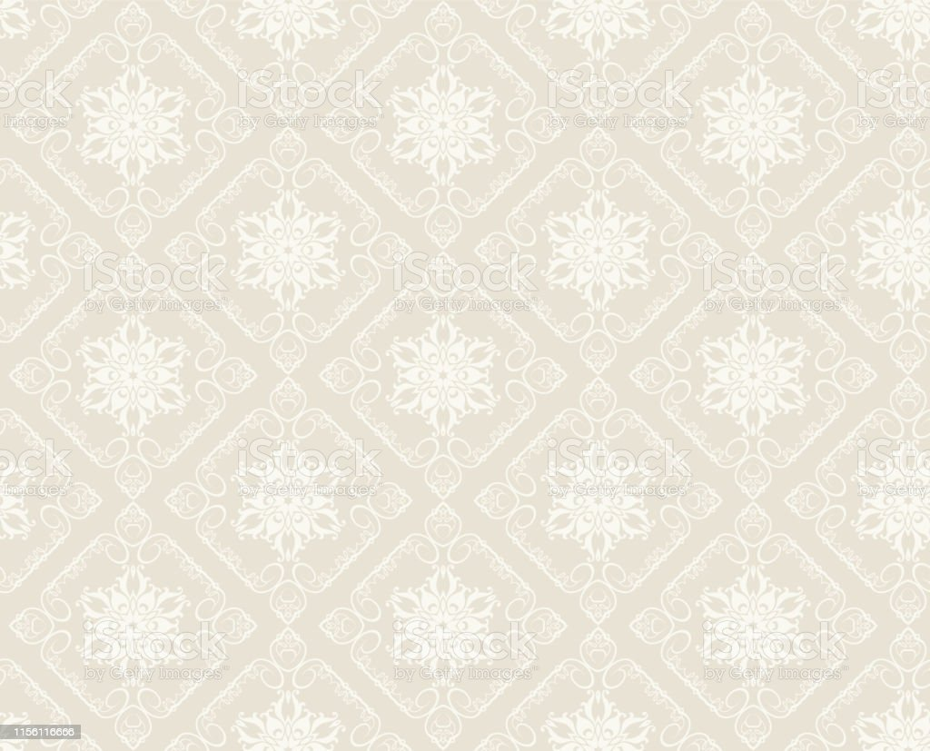 Vintage Seamless Pattern Background Wallpaper Stock Illustration Download Image Now Istock