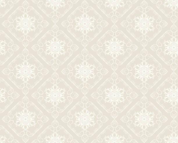 vintage nahtlose muster. hintergrund wallpaper - tapete stock-grafiken, -clipart, -cartoons und -symbole