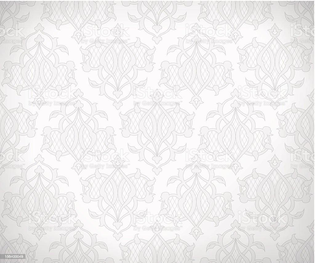 Vintage seamless pattern for background design vector art illustration
