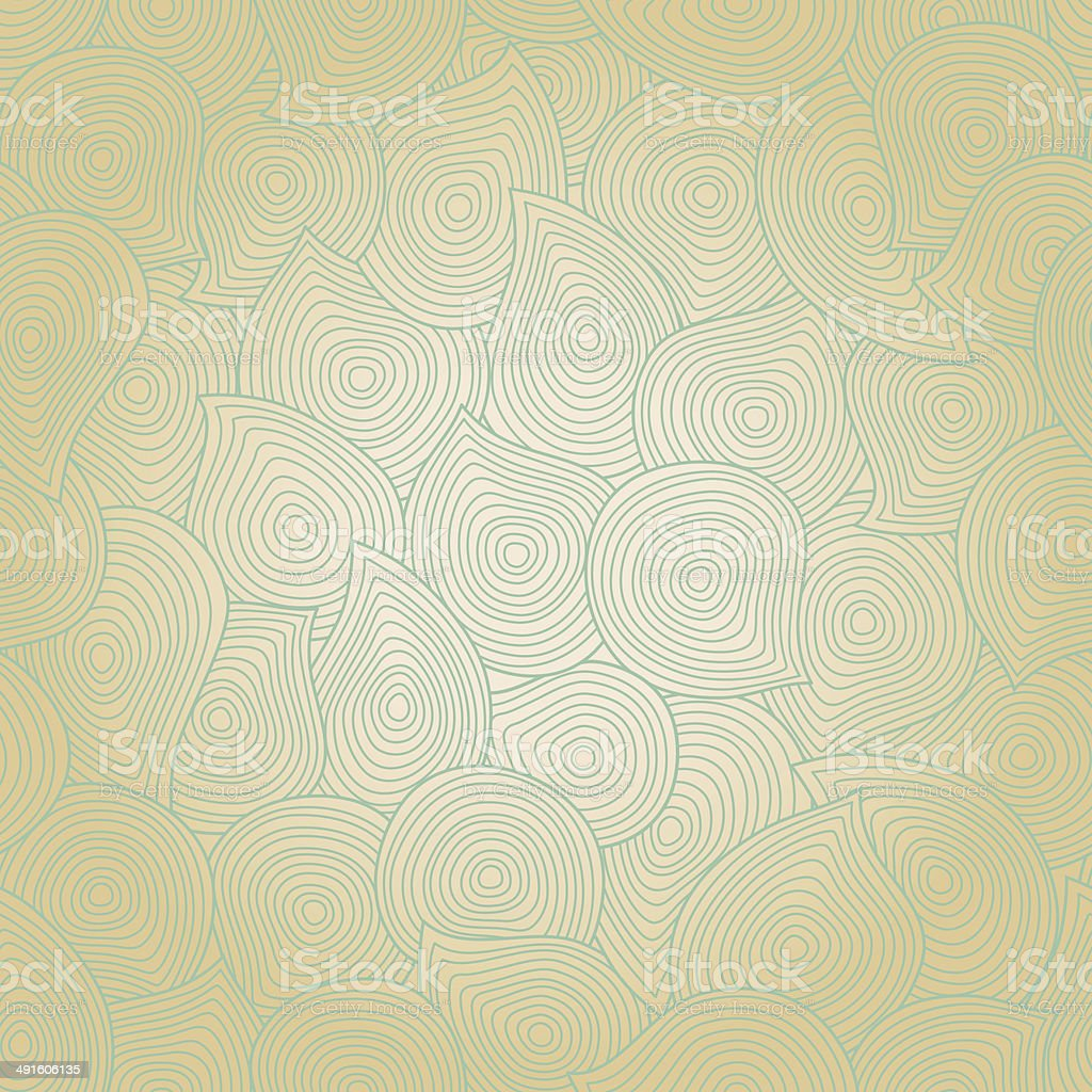 Vintage seamless texture with swirls and drops. royalty-free vintage seamless texture with swirls and drops stock vector art & more images of abstract