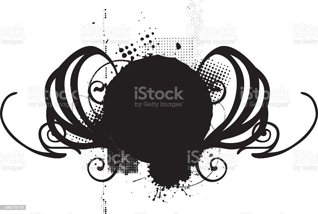 vintage shield royalty-free stock vector art