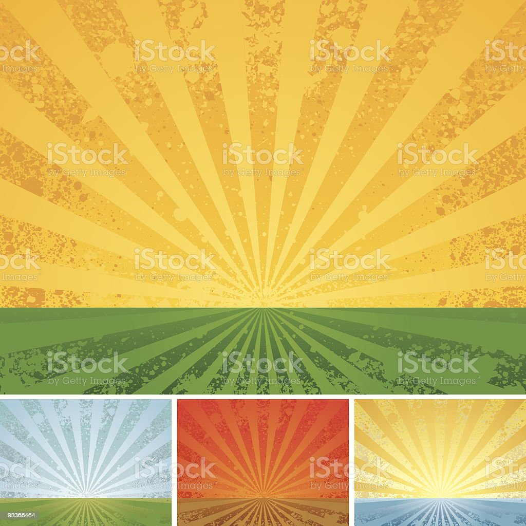 Vintage shining royalty-free vintage shining stock vector art & more images of backgrounds