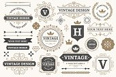 Vintage sign frames. Old decorative frame design, retro ornate label elements and luxurious vintage borders. Premium certificate badge, Victorian elegant tag. Isolated vector symbols set
