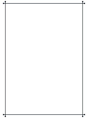 Vintage simple vector line border frame signboard or label