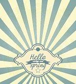 Vintage Spring Frame