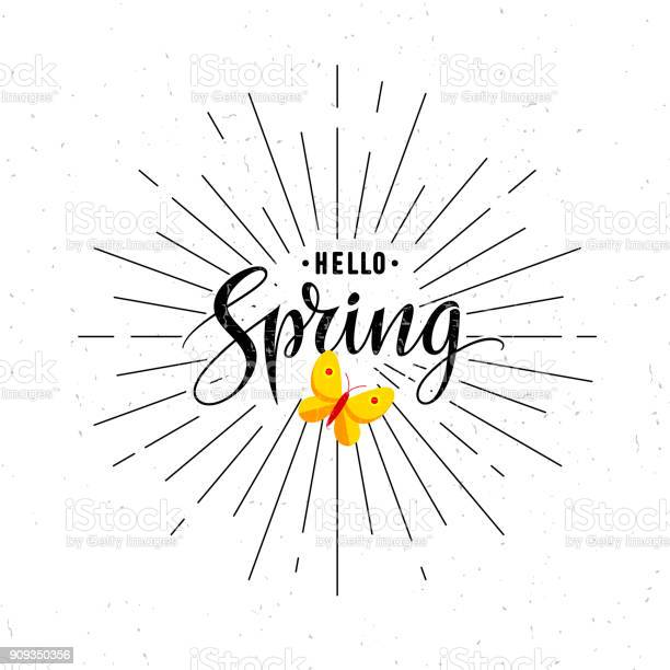 Vintage spring letterng typography with sun rays black and white vector id909350356?b=1&k=6&m=909350356&s=612x612&h=ibsl 3lsjzzkeuhpnxpb2 wxbi5l1sk0bkquglbefz4=