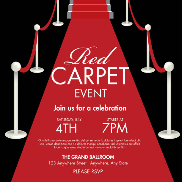Best Red Carpet Event Illustrations Royalty Free Vector