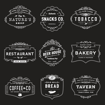 Vintage Style Shop Insignia