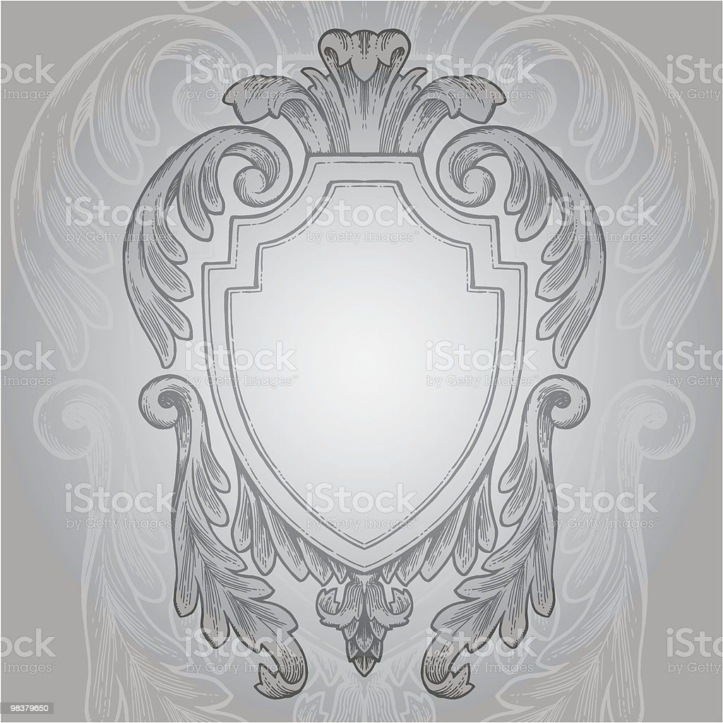 Vintage Styled Heraldry royalty-free vintage styled heraldry stock vector art & more images of antique