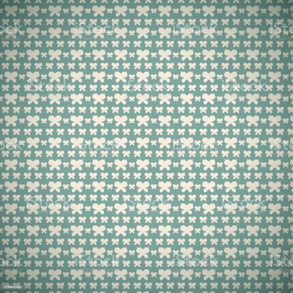 Vintage summer vector seamless pattern (with swath, tiling) vector art illustration