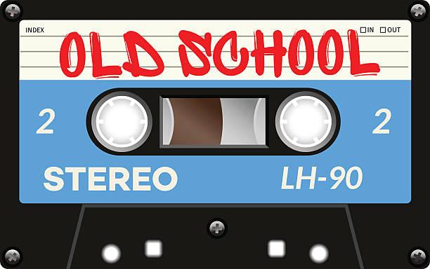 ilustrações, clipart, desenhos animados e ícones de vintage com fita cassete com nome - fita cassete