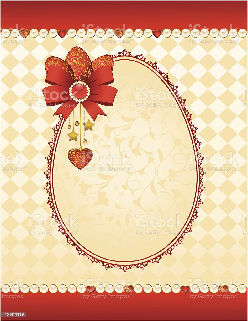 Vintage tapestry background. Vector for Valentine's Day royalty-free vintage tapestry background vector for valentines day stock vector art & more images of antique