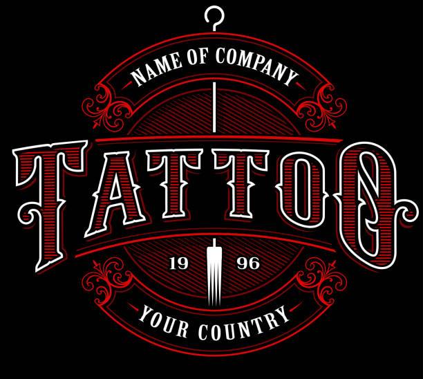 Best Tattoo Shop Illustrations, Royalty-Free Vector Graphics