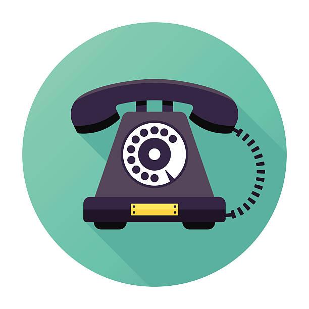 Vintage Telephone vector art illustration