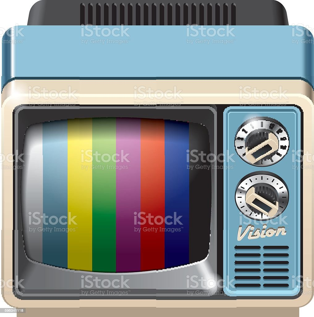 Vintage television receiver icon royalty-free vintage television receiver icon stock vector art & more images of analog