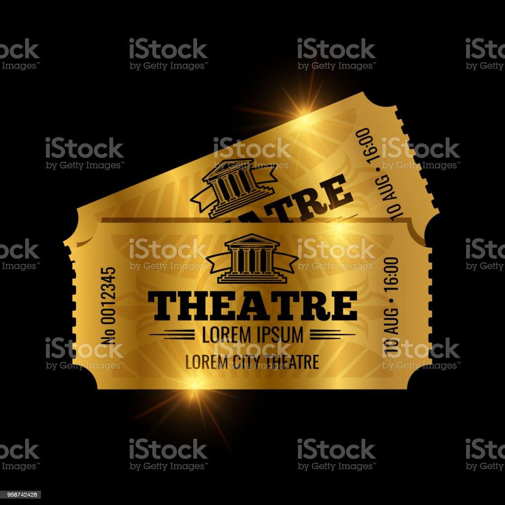golden ticket illustrations  royalty