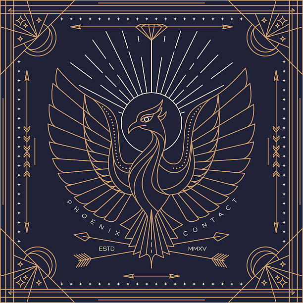 Phoenix Bird Illustrations, Royalty-Free Vector Graphics